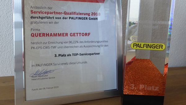 TOP-Servicepartner von Palfinger